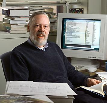 Dennis Ritchie and his Acme Terminal